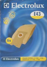 Electrolux E43 Power System Smartvac Vacuum Cleaner Hoover Bags